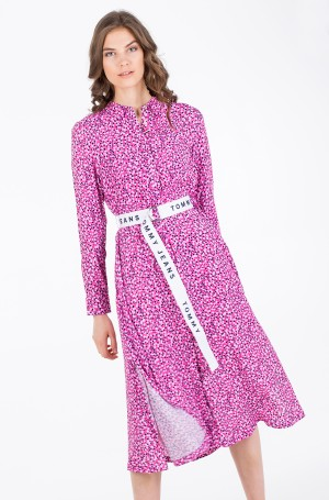 Midikleit TJW PRINTED SHIRT DRESS-3
