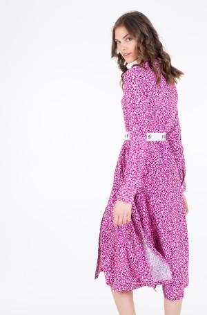 Midikleit TJW PRINTED SHIRT DRESS-5