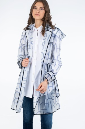 Vihmamantel FELICIA DB HOODED RAIN TRENCH-1