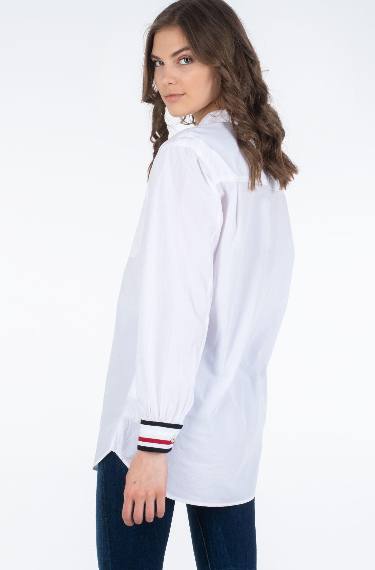 Marškiniai ICON BOYFRIEND SHIRT LS-full-2