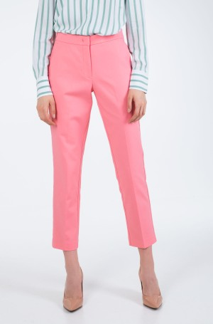 Trousers SLUB COTTON SLIM PANT-1