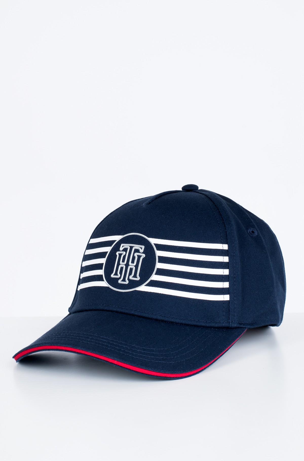 Kepurė su snapeliu  POPPY BRETON STRIPES CAP-full-1