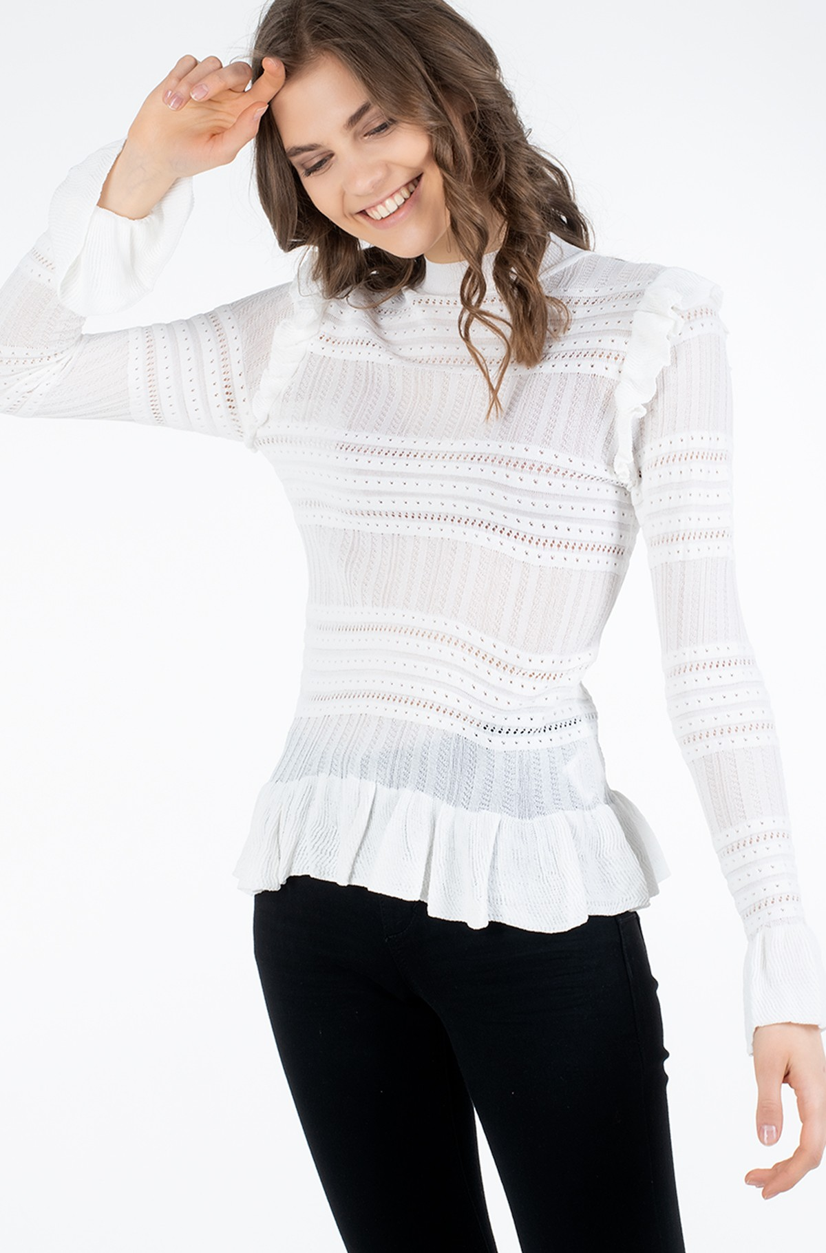 Kootud pluus OLIVIA KNITTED SWEATER/PL701620	-full-1