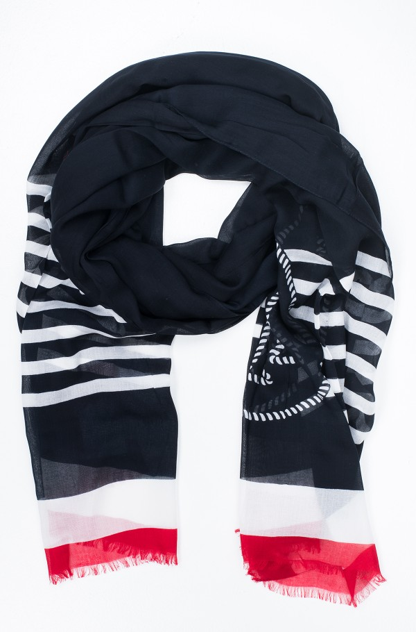 POPPY BRETON STRIPES SCARF