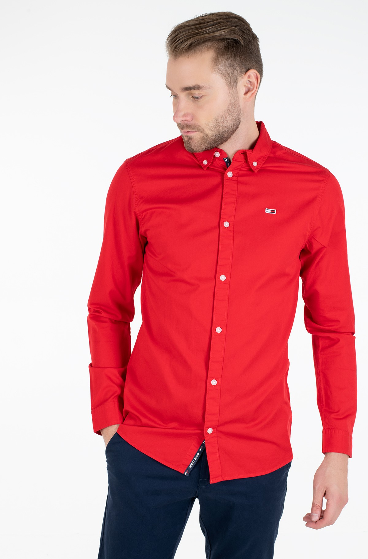 Triiksärk TJM LIGHT TWILL SHIRT-full-1