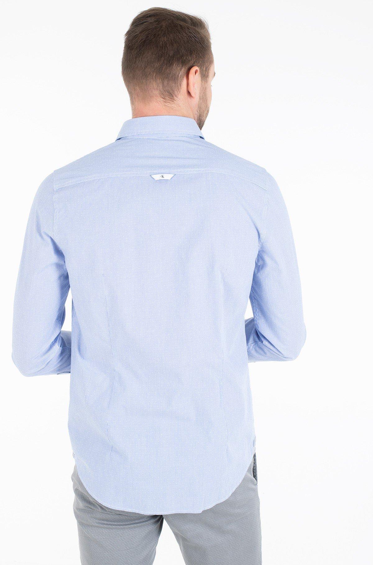 Marškiniai DOBBY SLIM STRETCH-full-2