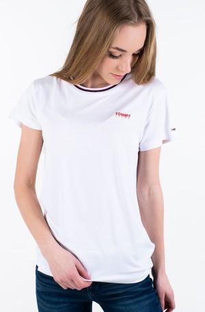 Marškinėliai TJW RIB NECK TEE-1