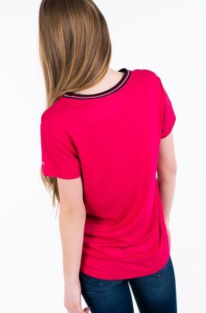 Marškinėliai TJW RIB NECK TEE-2
