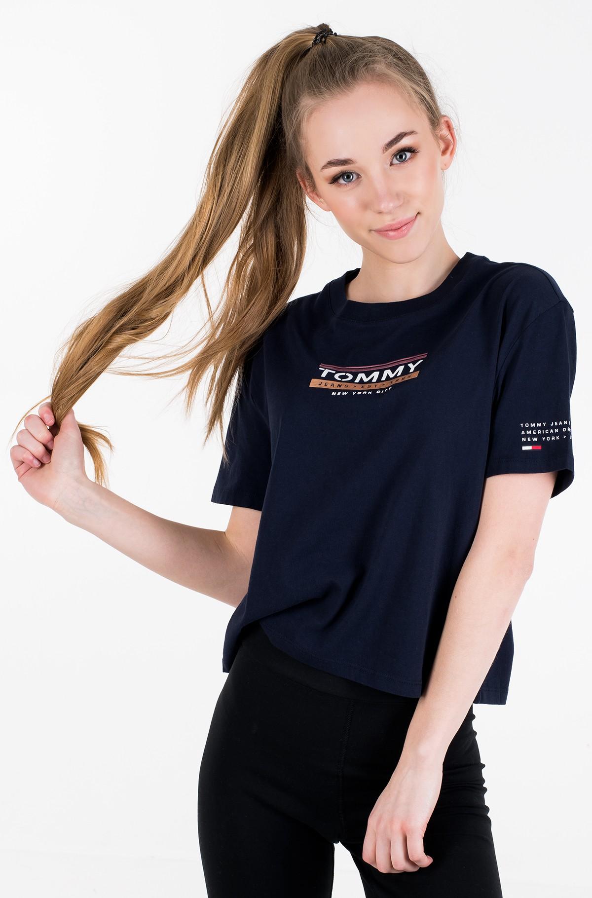 Marškinėliai TJW SLEEVE DETAIL LOGO TEE-full-1