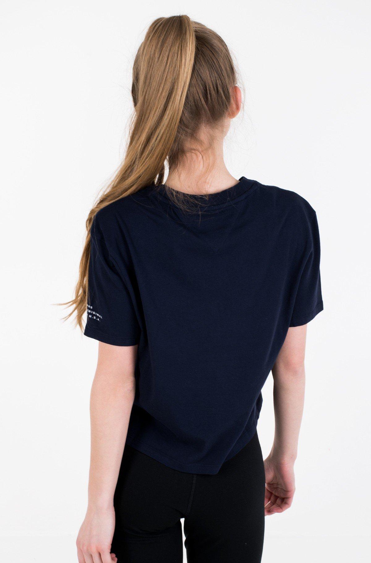 Marškinėliai TJW SLEEVE DETAIL LOGO TEE-full-2