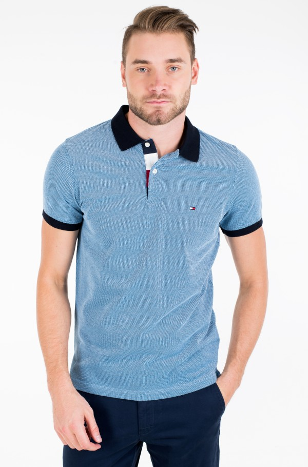 STRUCTURED SLIM POLO