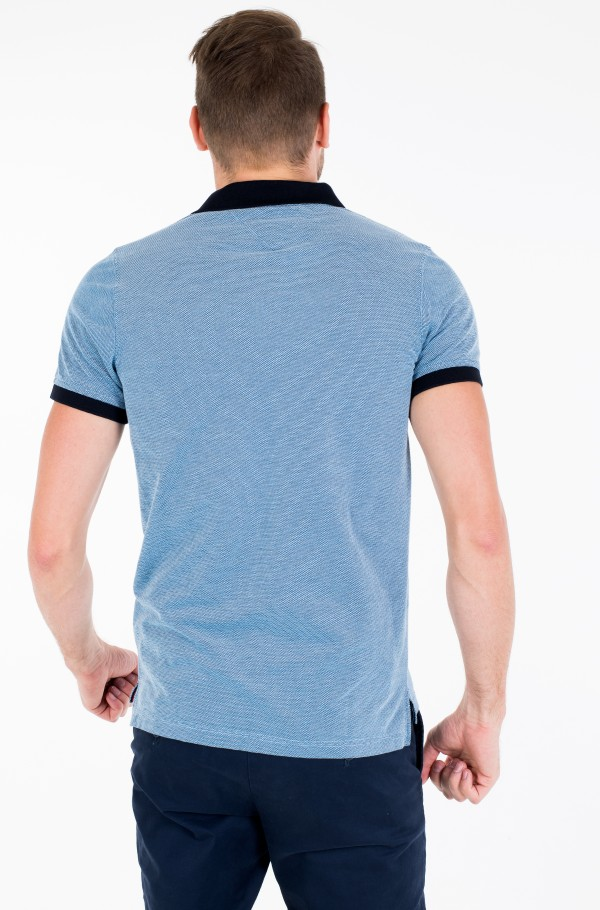 STRUCTURED SLIM POLO-hover