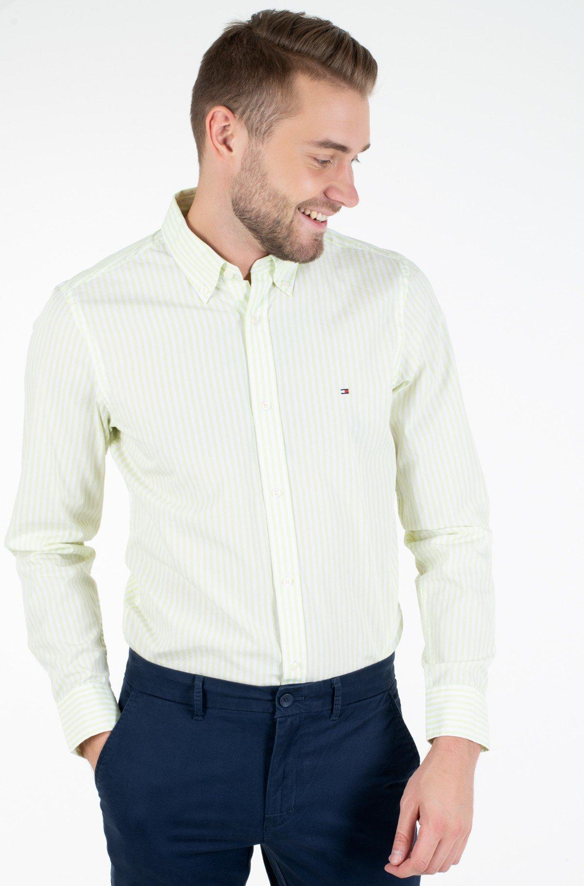 Marškiniai SLIM HYPER CLASSIC STRIPE SHIRT-full-1