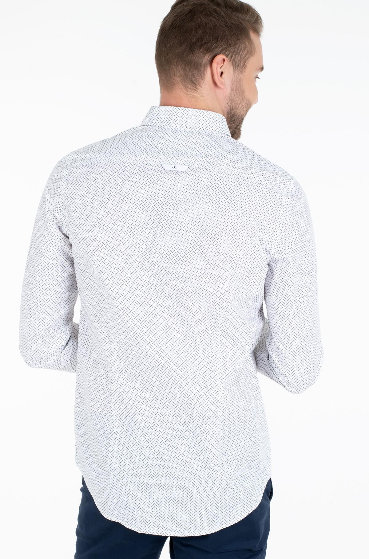 Marškiniai GEO MICRO PATTERN SHIRT-full-2