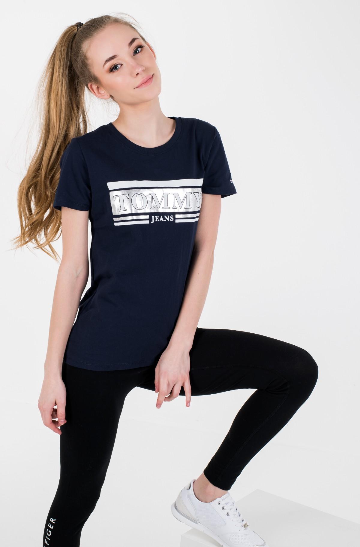 Marškinėliai TJW METALLIC LOGO TEE-full-1