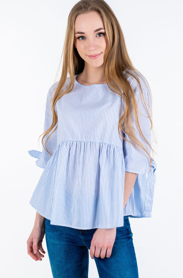 TJW SLEEVE BOW DETAIL BLOUSE