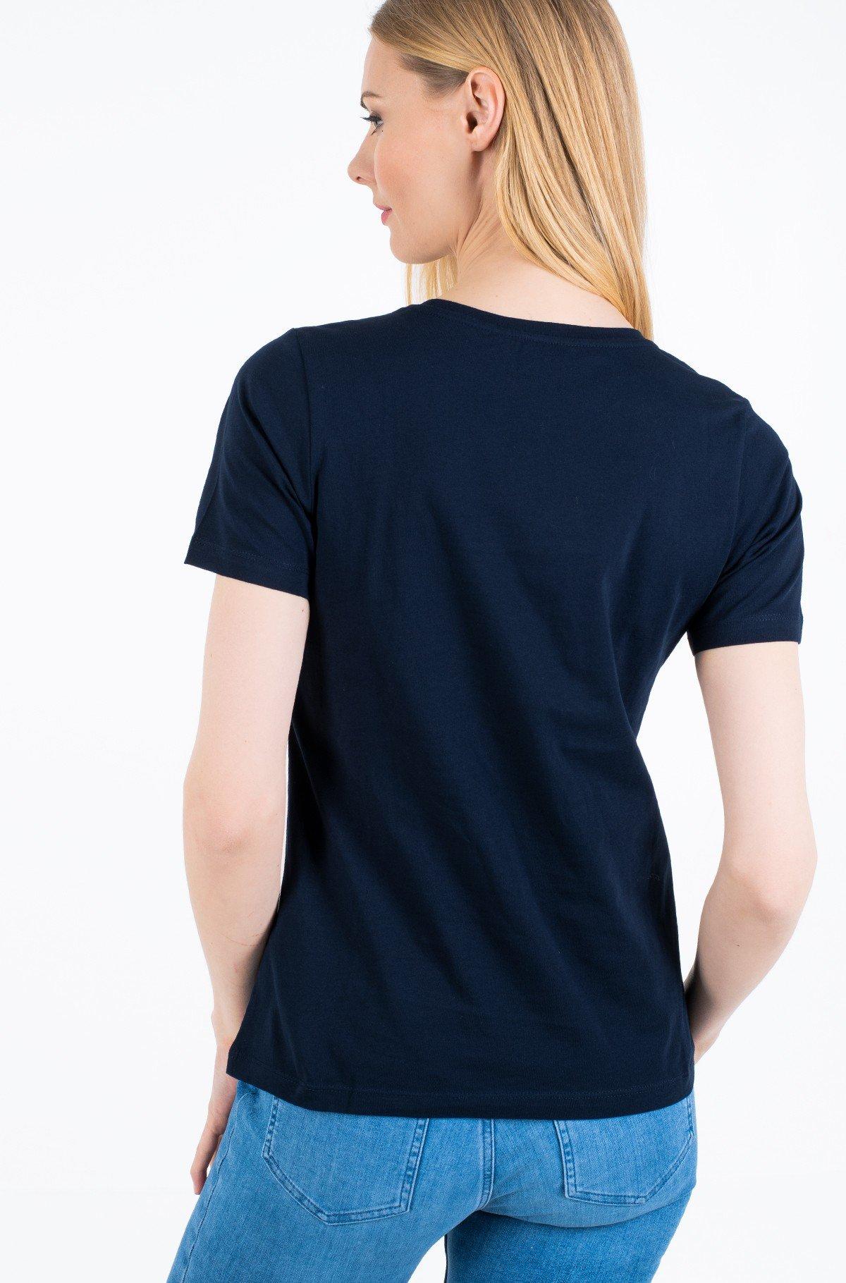 Marškinėliai ALISSA REGULAR C-NK TEE SS-full-2