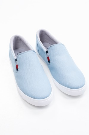 Tennised ESSENTIAL SLIP ON SNEAKER DENIM-1