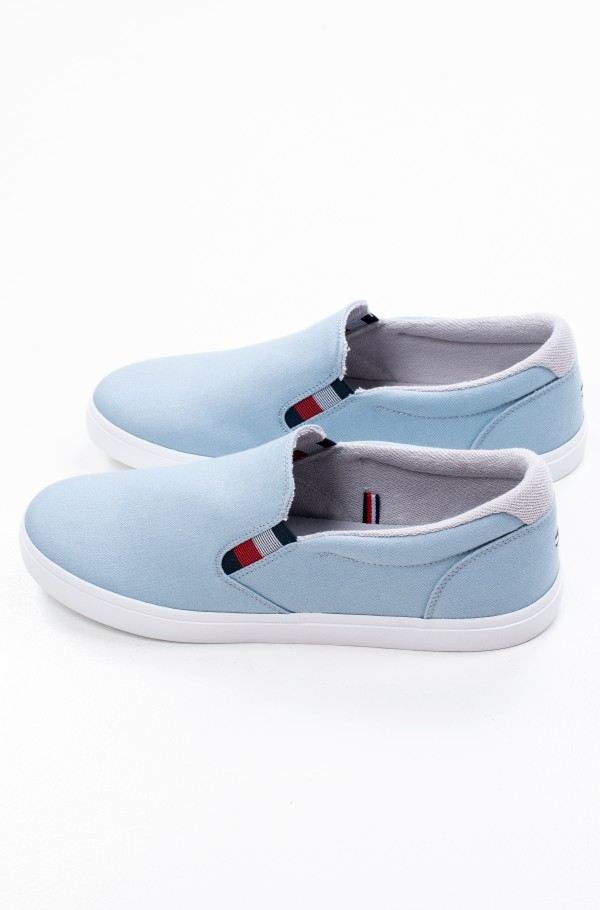 ESSENTIAL SLIP ON SNEAKER DENIM-hover