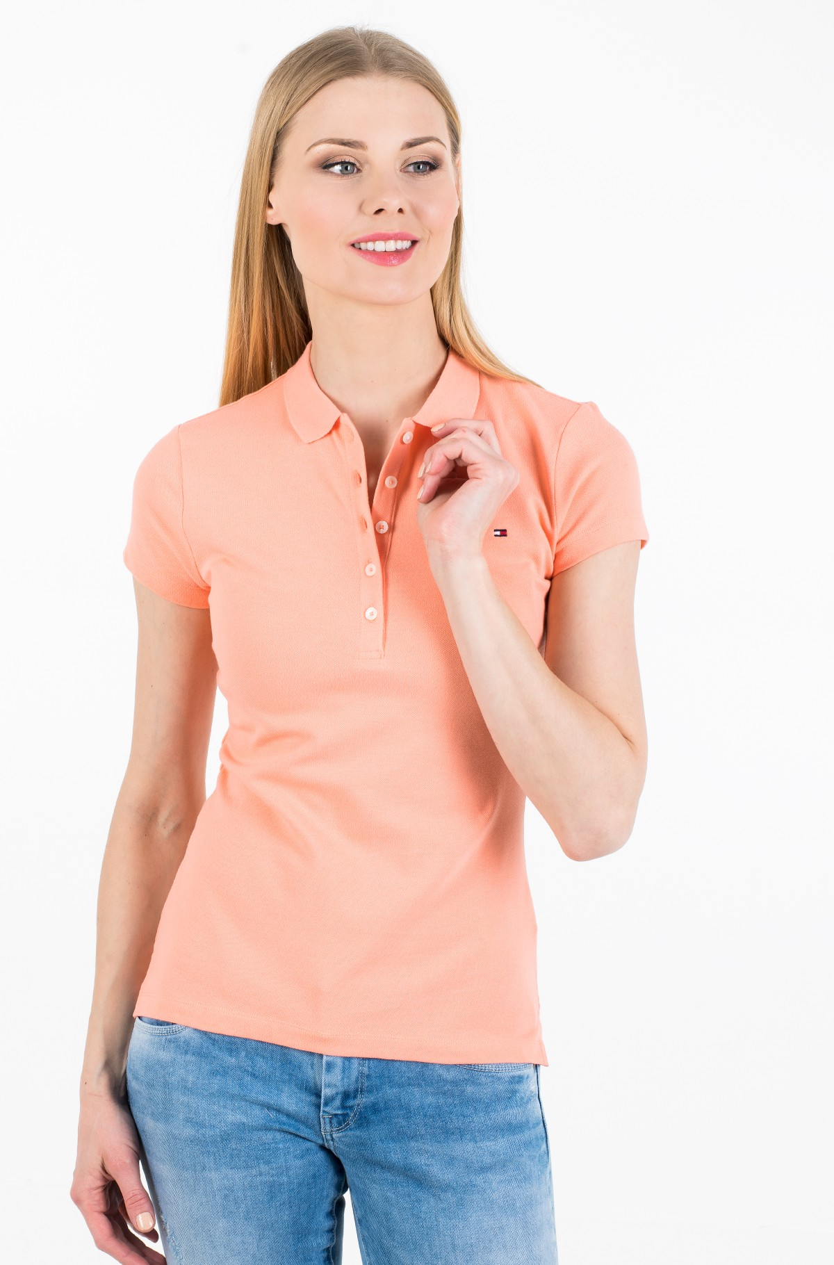 Polo SHORT SLEEVE SLIM POLO-full-1