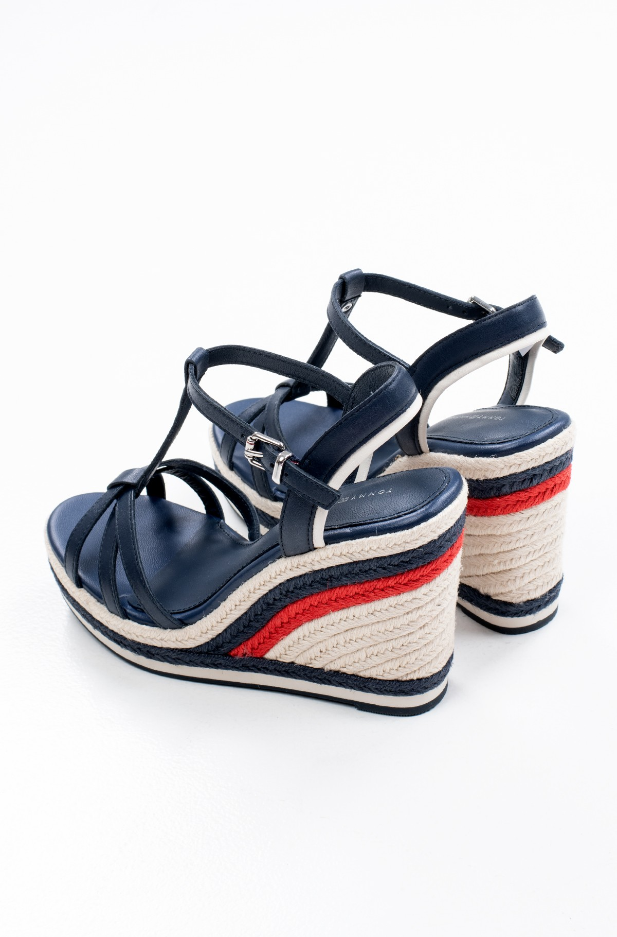 Batai su platforma TOMMY STRAPPY HIGH WEDGE-full-3