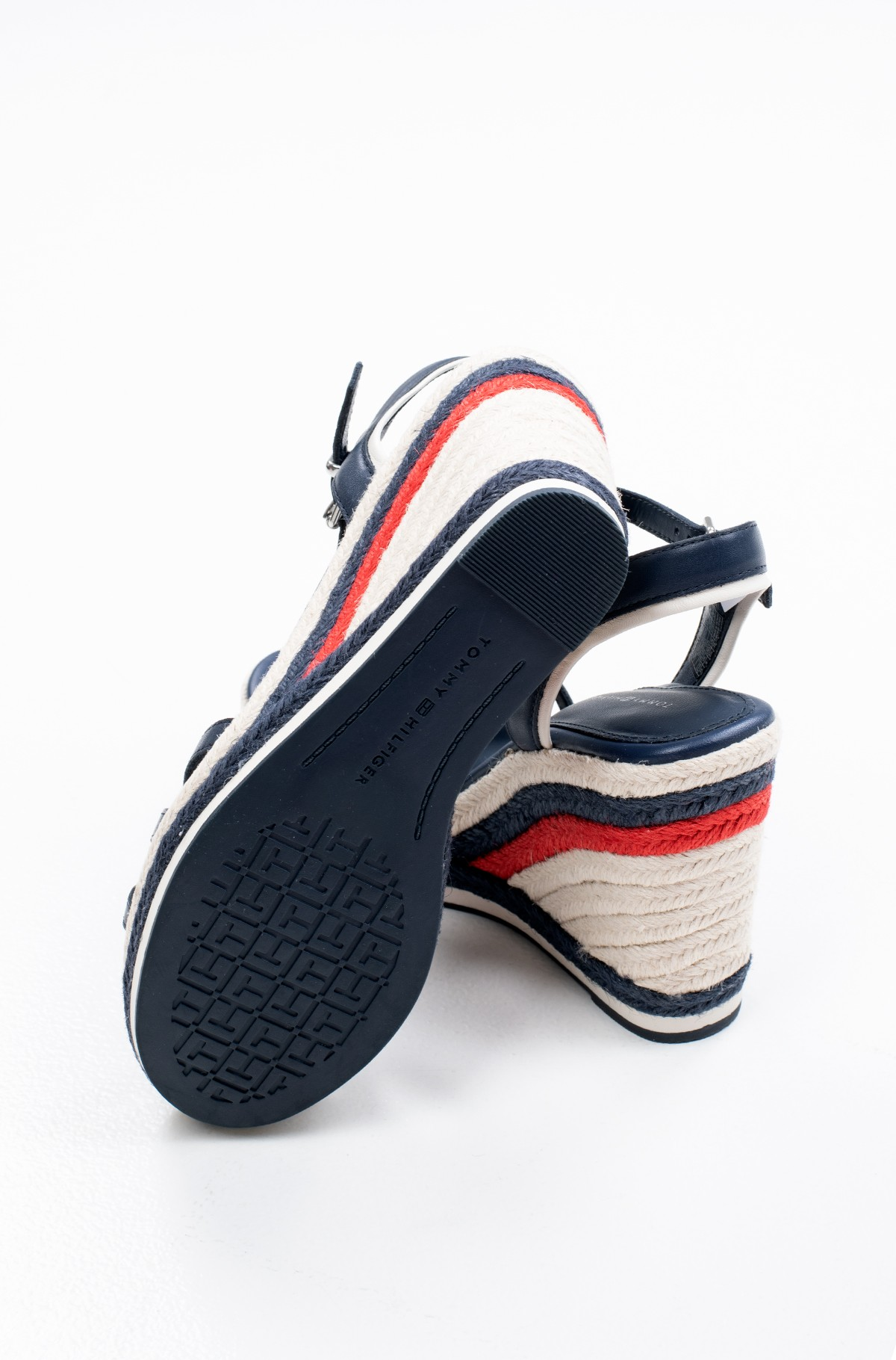 Batai su platforma TOMMY STRAPPY HIGH WEDGE-full-4