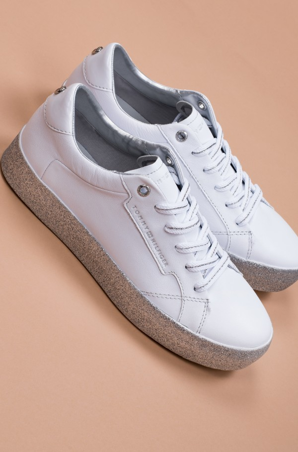 GLITTER FOXING DRESS SNEAKER-hover
