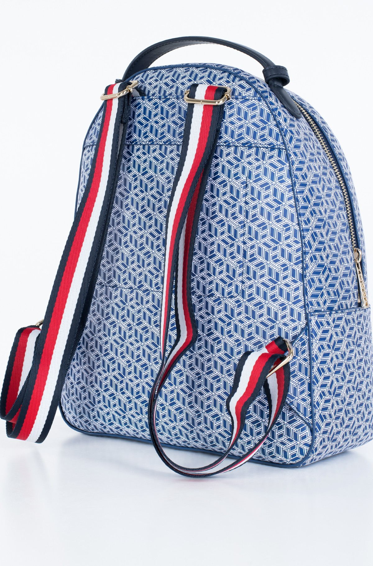 Seljakott ICONIC TOMMY BACKPACK MONOGRAM-full-2