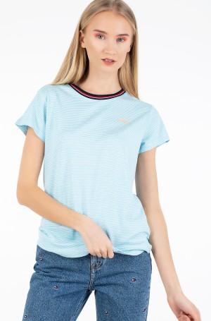 Marškinėliai TJW RIB NECK STRIPE TEE-1