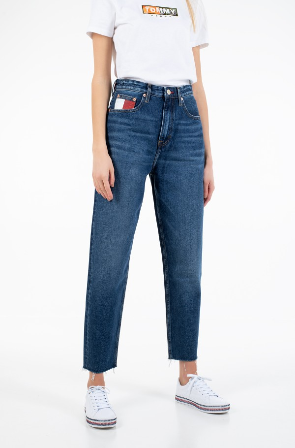 MOM JEAN HIGH RISE TAPERED VLTDK
