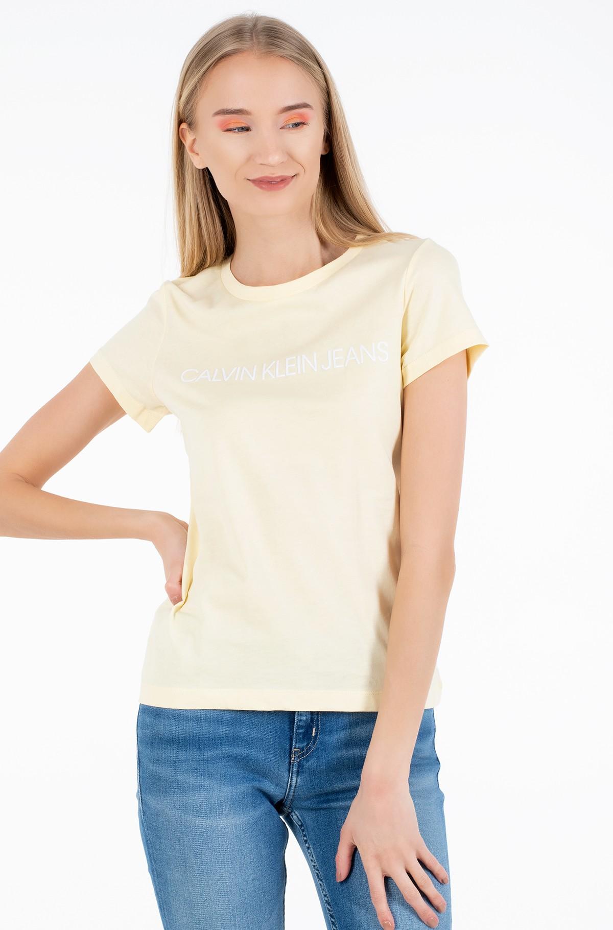 Marškinėliai INSTITUTIONAL LOGO SLIM FIT TEE-full-1