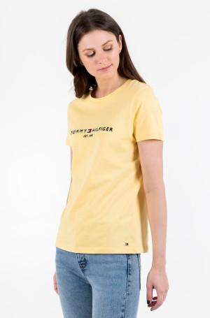 Marškinėliai NEW TH ESS HILFIGER C-NK TEE SS-1