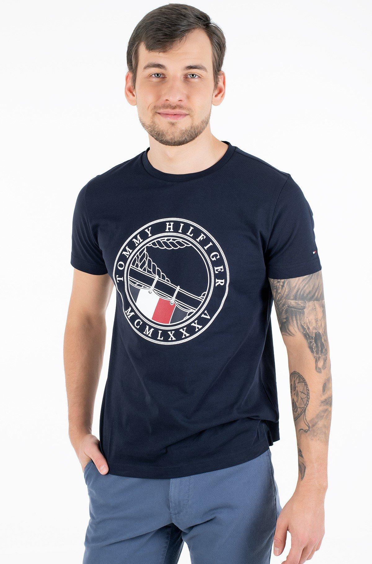 Marškinėliai ROUND NAVAL TEE-full-1
