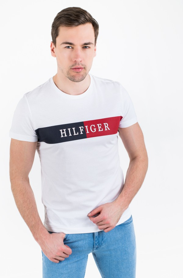 BLOCK STRIPE HILFIGER TEE