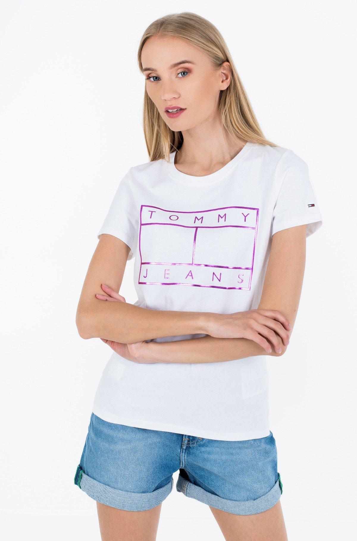 Marškinėliai TJW METALLIC FLAG TEE-full-1