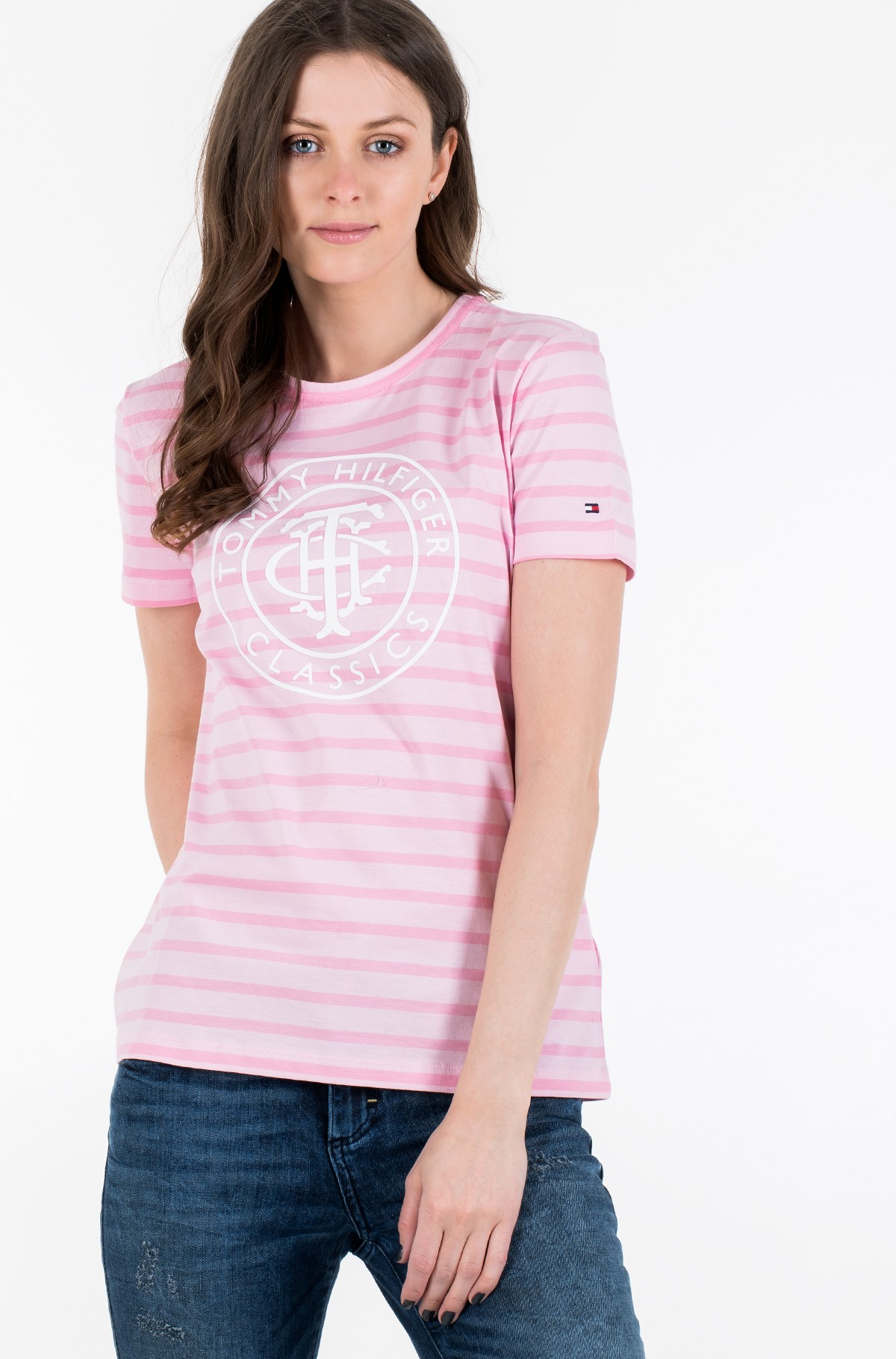 Marškinėliai TH COOL ESS RELAXED GRAPHIC TEE-full-1