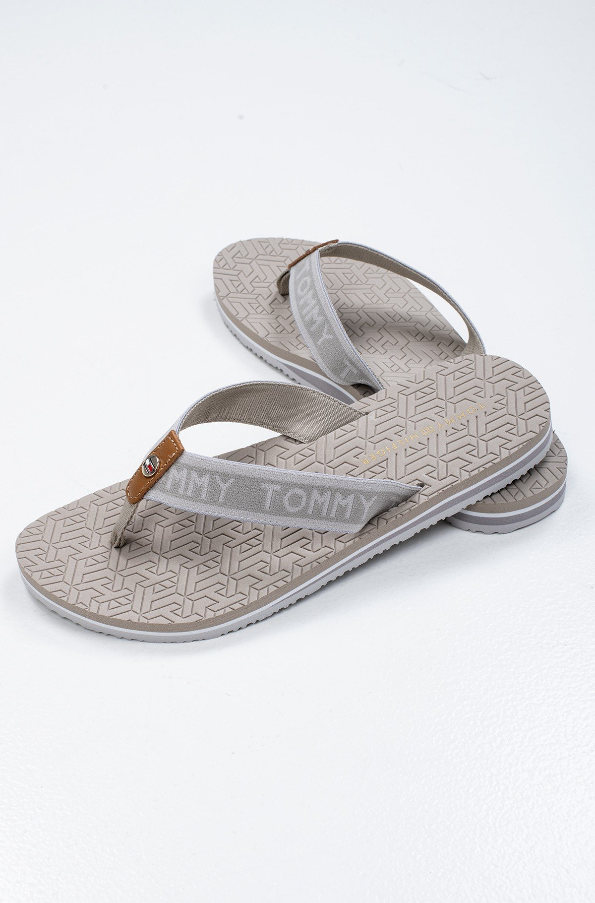 Flip-flops TH EMBOSSED FLAT BEACH SANDAL-full-1
