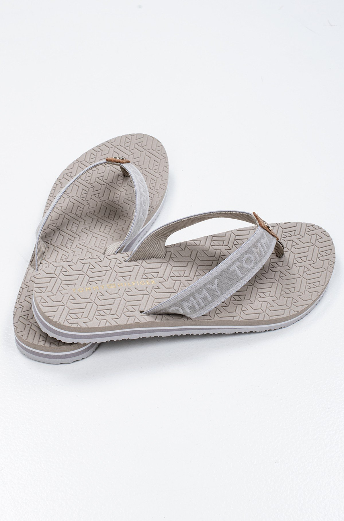 Flip-flops TH EMBOSSED FLAT BEACH SANDAL-full-3