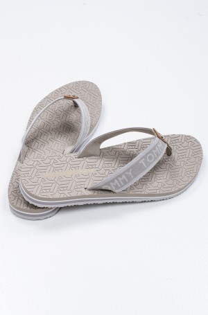 Flip-flops TH EMBOSSED FLAT BEACH SANDAL-3