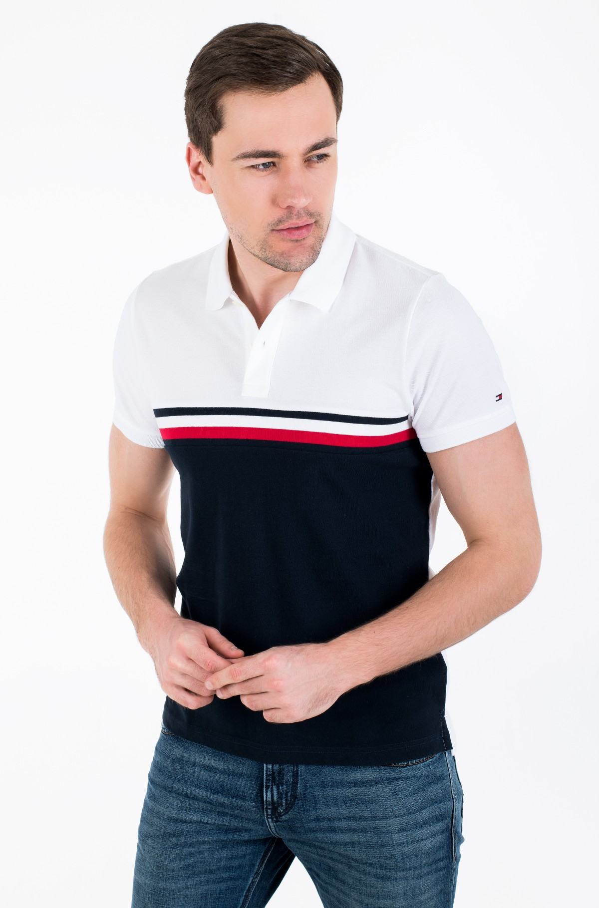 Polo GS INSERT COLORBLOCK SLIM POLO-full-1