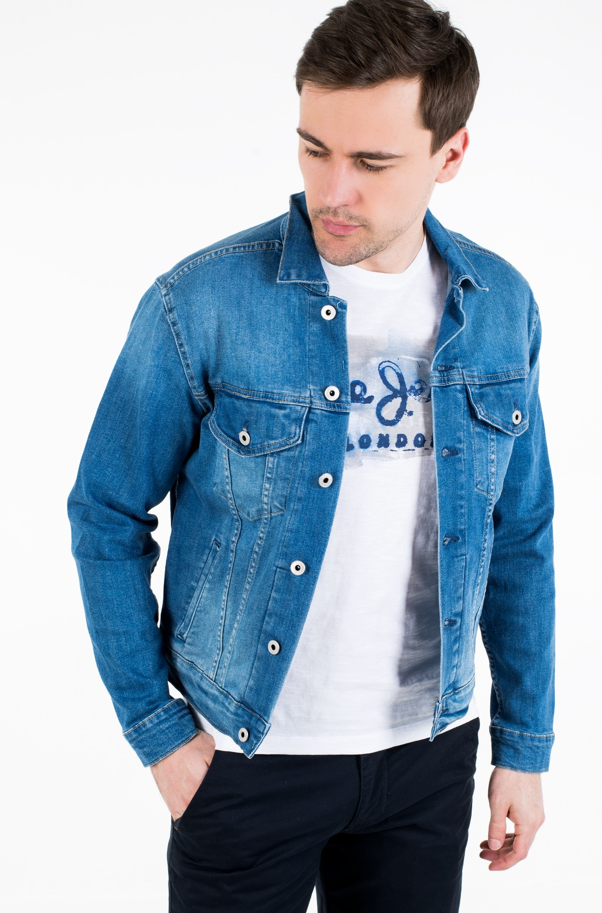 Denim jacket PINNER/PM400908HB6-full-1