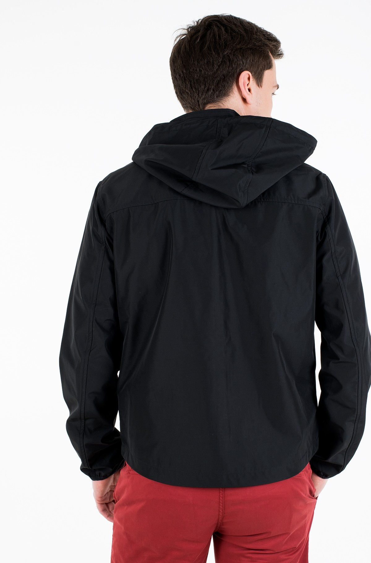 Striukė JERSEY LINED HOODED JACKET-full-2