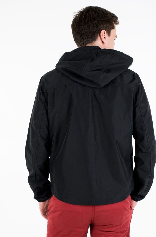 JERSEY LINED HOODED JACKET-hover