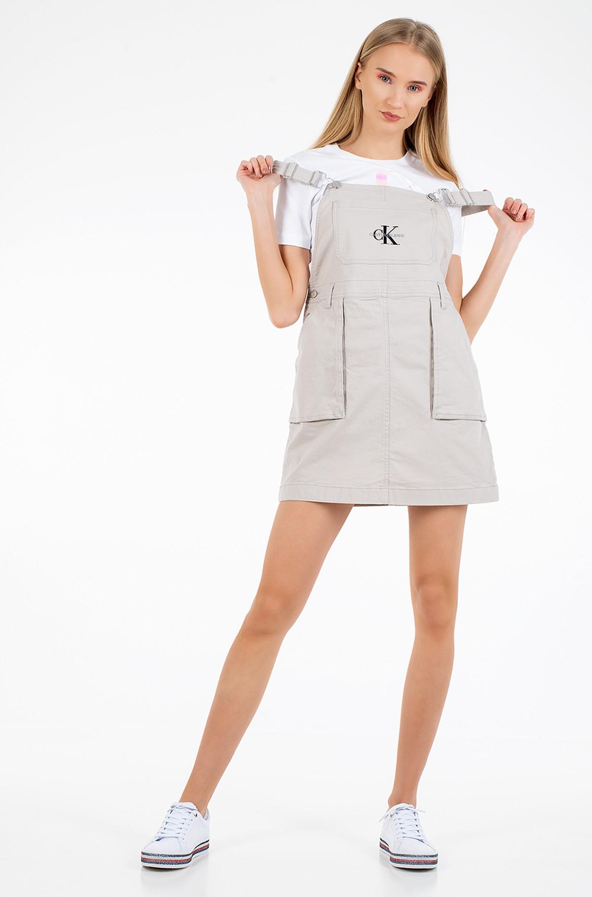Kombinezoninė suknelė UTILITY DUNGAREE DRESS-full-1