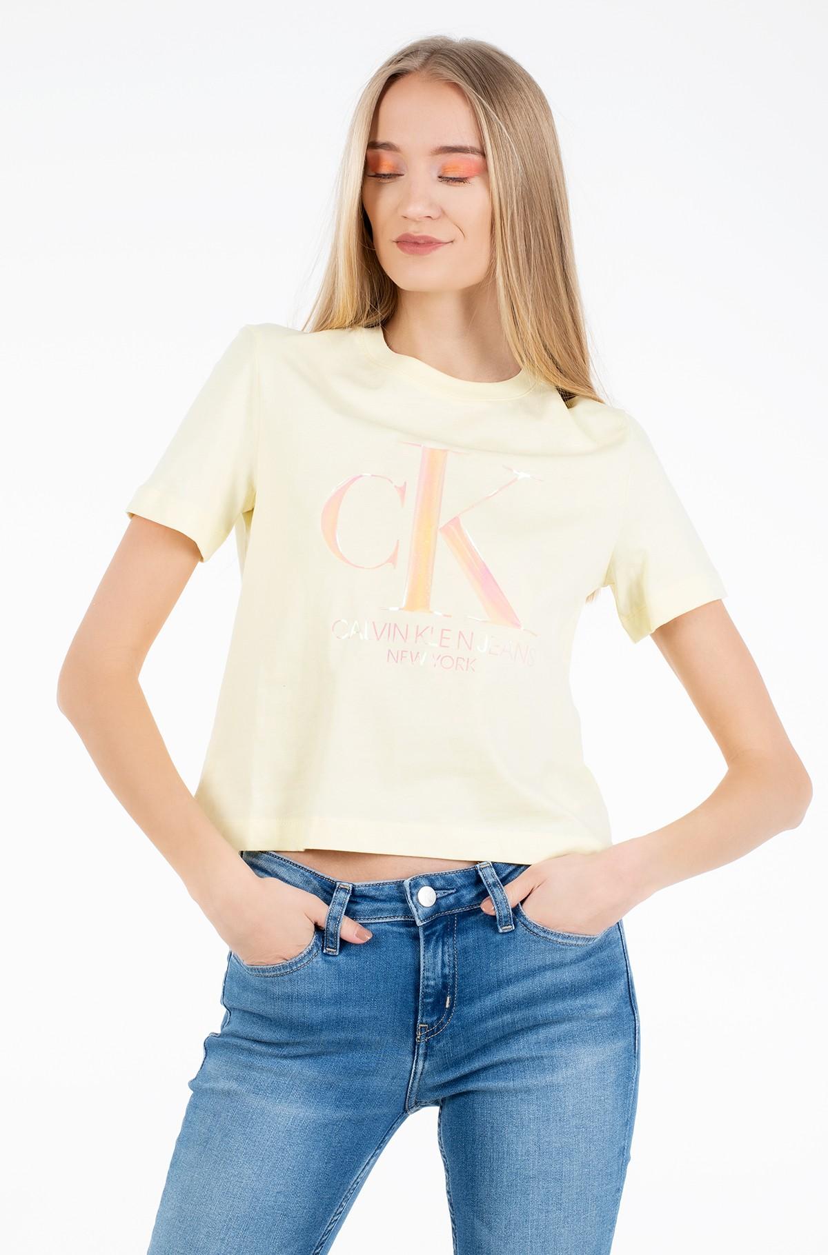 Marškinėliai IRIDESCENT CK STRAIGHT TEE-full-1