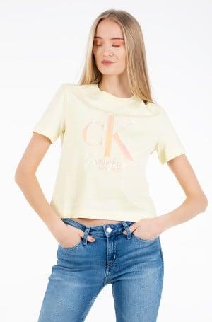 Marškinėliai IRIDESCENT CK STRAIGHT TEE-1