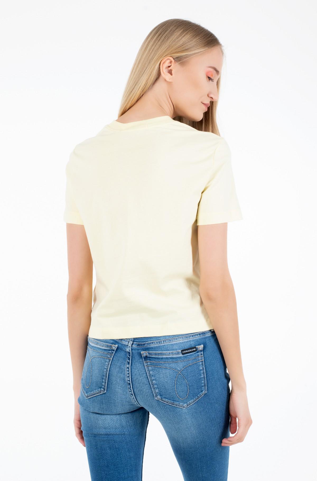 Marškinėliai IRIDESCENT CK STRAIGHT TEE-full-2