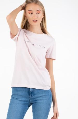 Marškinėliai TIARA REGULAR ROUND-NK TEE SS-1
