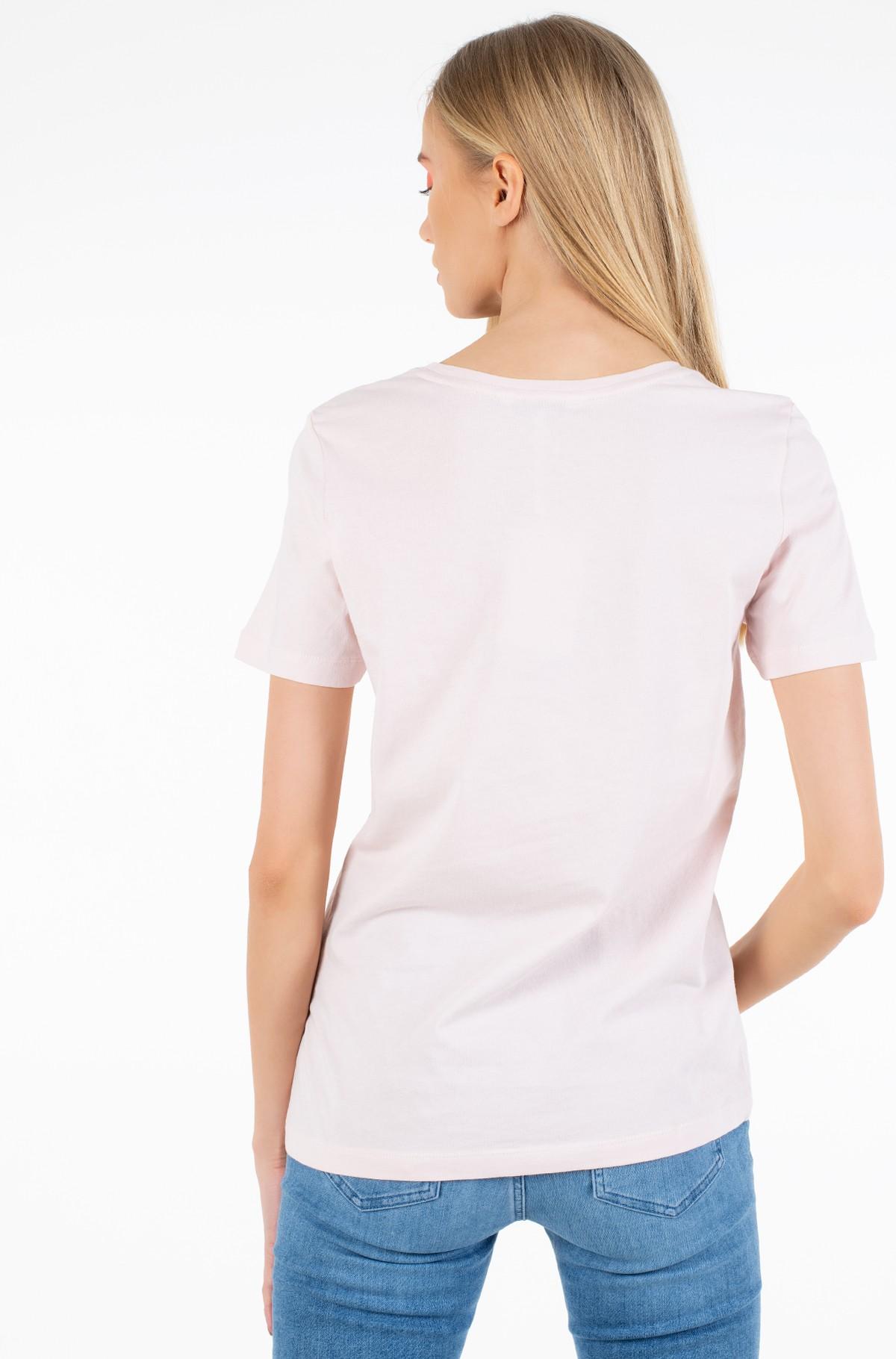 Marškinėliai TIARA REGULAR ROUND-NK TEE SS-full-2