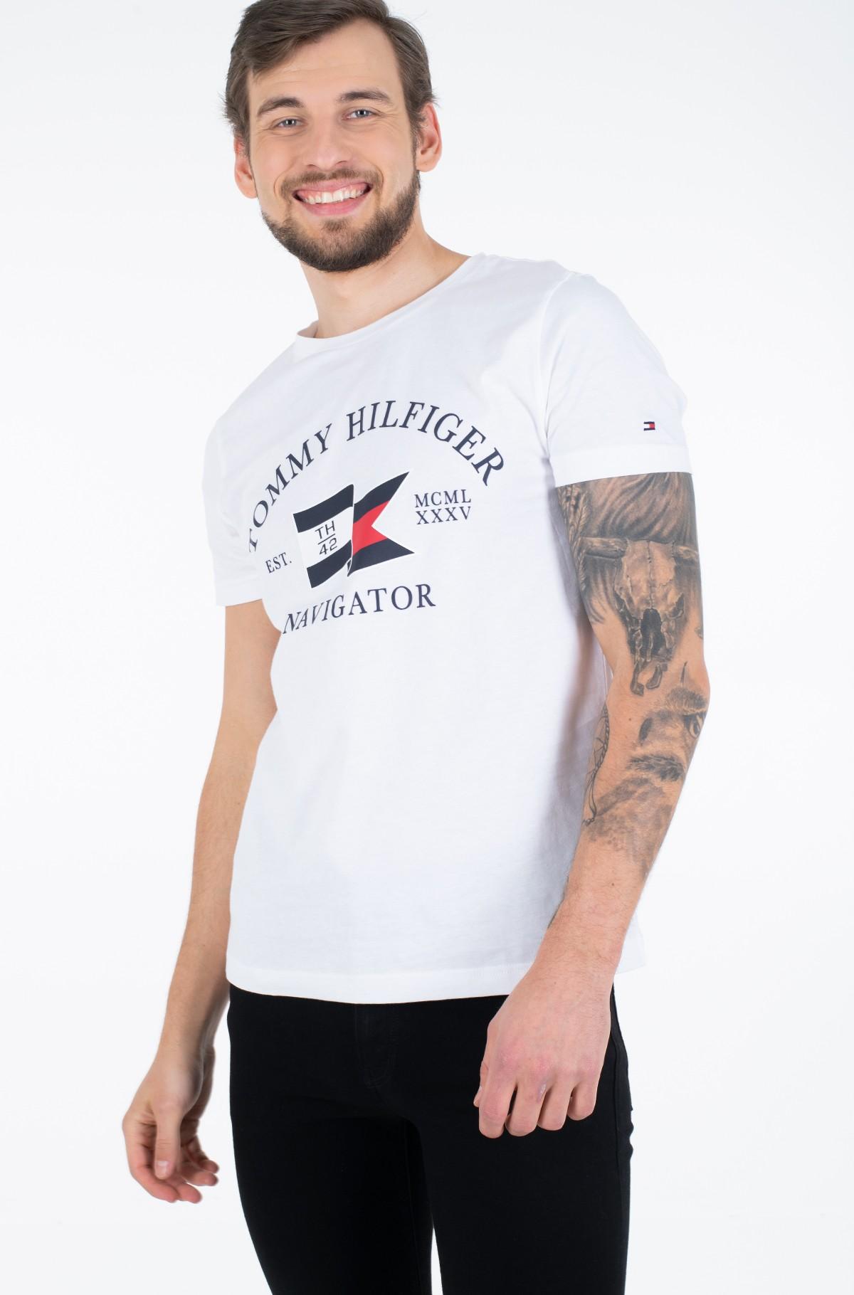 Marškinėliai FOLDED FLAG TEE-full-1